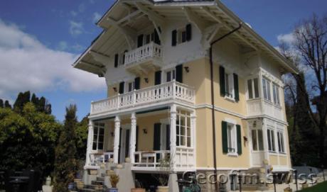 Купить красивый дом в Кларан, Швейцария