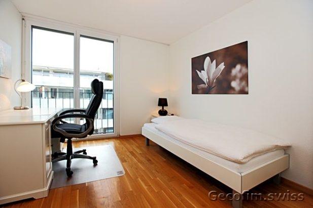 Retirer appartement meubl 5 5 pi ces cham en suisse for Appartement meuble geneve