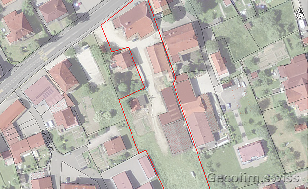Investment project, Switzerland. Transformation of rural areas + construction of 3 residential buildings