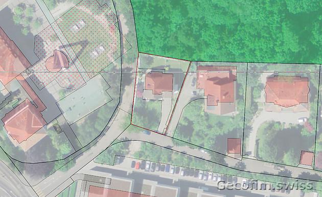 Immeuble de 18 appartements à la place d'une villa. Projet de densification